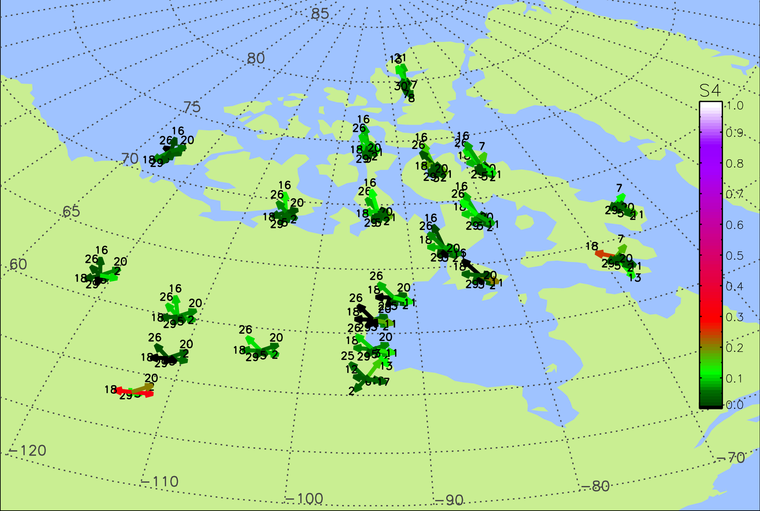 CHAIN Real-time Scintillation Map